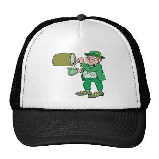 Cerveza verde gorros