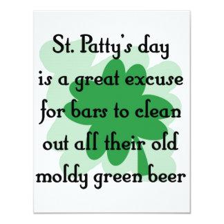 cerveza verde mohosa anuncios