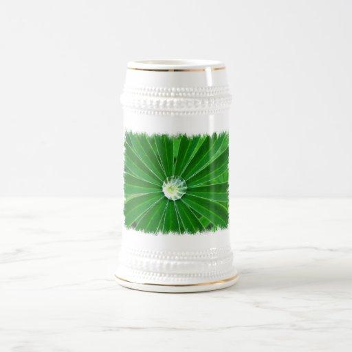 Cerveza verde Stein de la energía Tazas De Café
