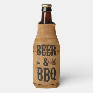 Cerveza y Bbq Enfriador De Botellas