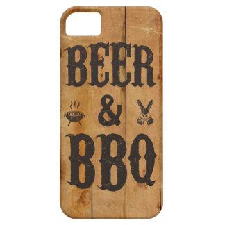 Cerveza y Bbq iPhone 5 Case-Mate Fundas