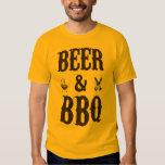Cerveza y Bbq Playera