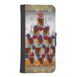 Cerveza y microprocesadores fundas tipo cartera para iPhone 5