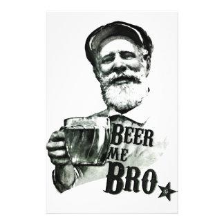 Cerveza yo Bro Tarjetas Publicitarias