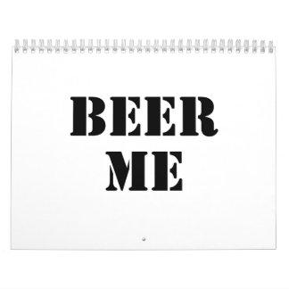 Cerveza yo calendarios de pared