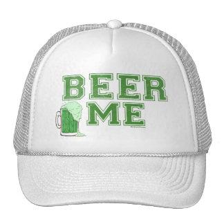 Cerveza yo cerveza verde gorros