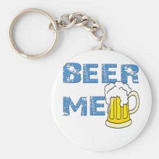 cerveza yo divertido llavero redondo tipo pin