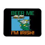 Cerveza yo irlandés Im Imán