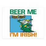 Cerveza yo irlandés Im Postales