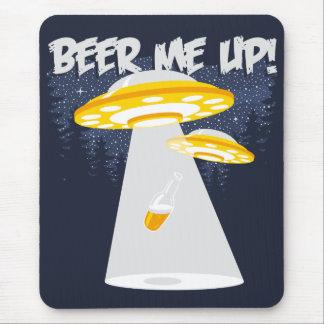 ¡Cerveza yo para arriba! Alfombrillas De Ratón