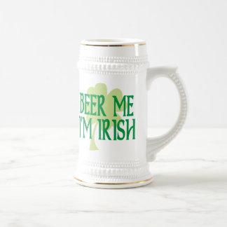 Cerveza yo soy irlandés Stein Taza