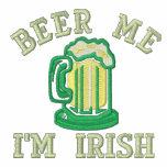 Cerveza yo - soy irlandés sudadera con capucha