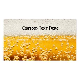 cerveza yo tarjetas de visita
