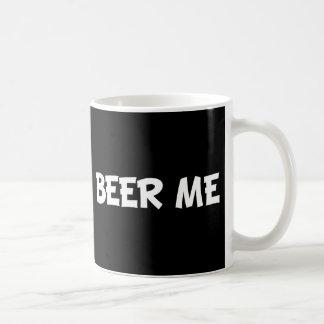 Cerveza yo taza básica blanca