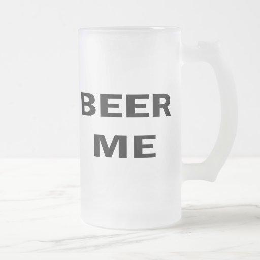 Cerveza yo taza de café
