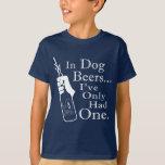 Cervezas del perro camisas