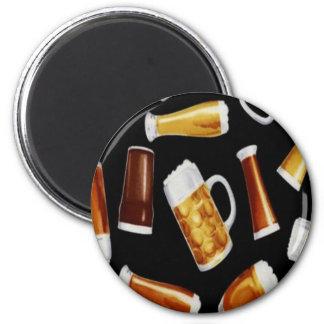 Cervezas Imán Redondo 5 Cm