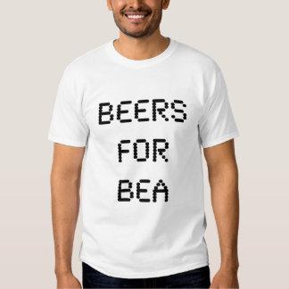 cervezas para el bea polera