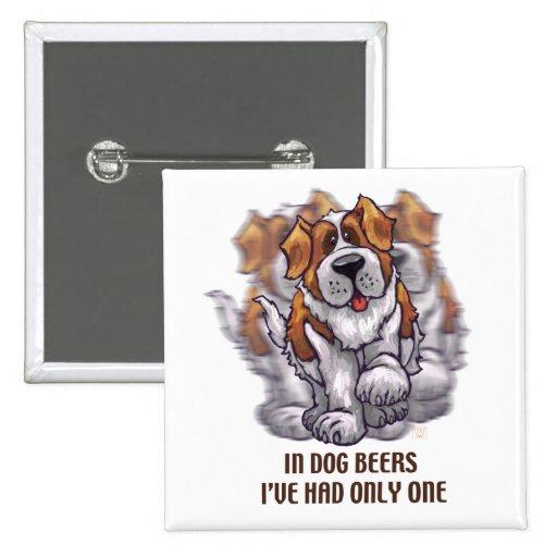 Cervezas St Bernard del perro Pin