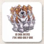 Cervezas St Bernard del perro Posavasos