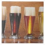 Cervezas y cervezas inglesas clasificadas azulejo ceramica
