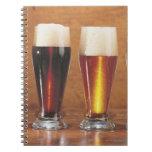 Cervezas y cervezas inglesas clasificadas libretas
