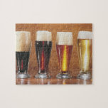 Cervezas y cervezas inglesas clasificadas rompecabeza