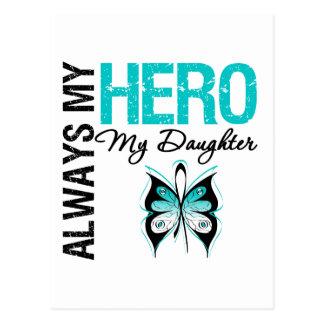 Cervical Cancer Always My Hero My Daughter Postcard