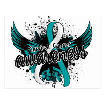 Cervical Cancer Awareness 16 Postcard
