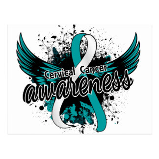 Cervical Cancer Awareness 16 Postcard