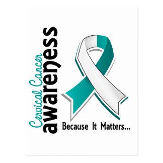 Cervical Cancer Awareness 5 Postcard