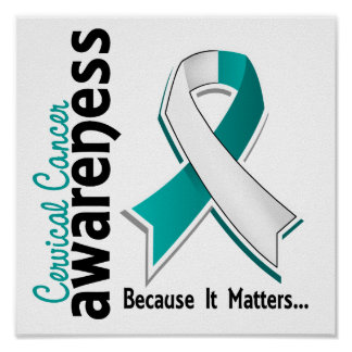 Cervical Cancer Awareness 5 Poster