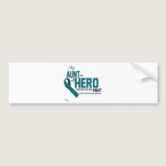Cervical Cancer Awareness: aunt Bumper Sticker