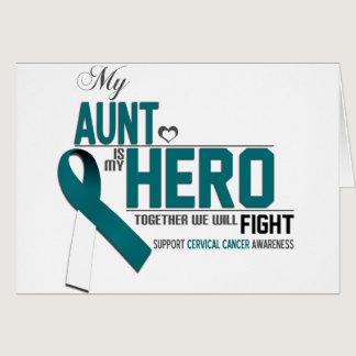 Cervical Cancer Awareness: aunt Card