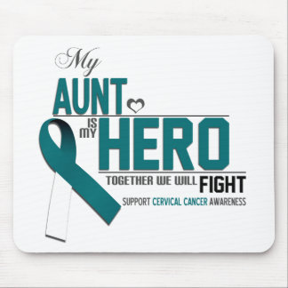Cervical Cancer Awareness: aunt Mouse Pad