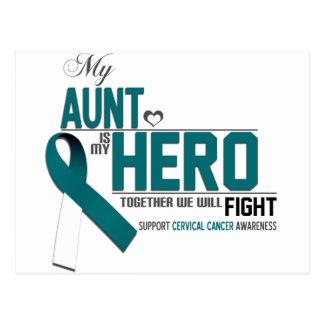 Cervical Cancer Awareness: aunt Postcard