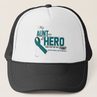 Cervical Cancer Awareness: aunt Trucker Hat