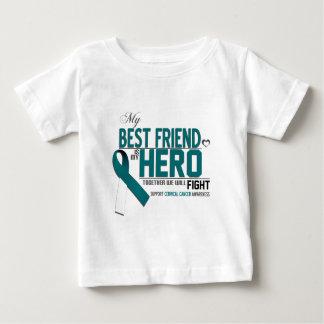 Cervical Cancer Awareness: best friend Baby T-Shirt