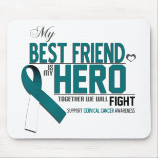Cervical Cancer Awareness: best friend Mouse Pad