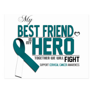 Cervical Cancer Awareness: best friend Postcard