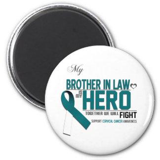 Cervical Cancer Awareness: brother in law Magnet