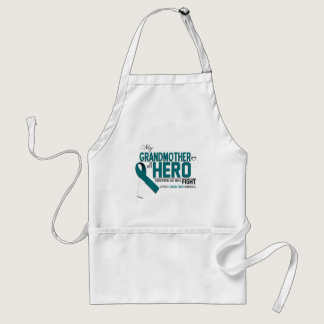 Cervical Cancer Awareness: grandmother Adult Apron