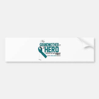 Cervical Cancer Awareness: grandmother Bumper Sticker