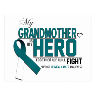 Cervical Cancer Awareness: grandmother Postcard
