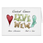 Cervical Cancer Awareness Greeting Cards
