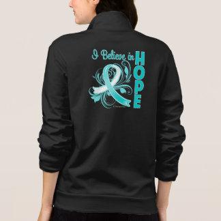 Cervical Cancer Awareness I Believe in Hope Printed Jackets