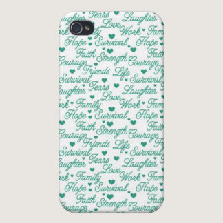 Cervical Cancer Awareness iPhone 4/4S Case