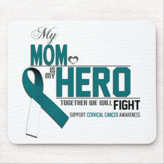 Cervical Cancer Awareness: mom Mouse Pad