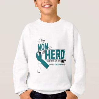 Cervical Cancer Awareness: mom Sweatshirt