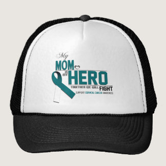 Cervical Cancer Awareness: mom Trucker Hat